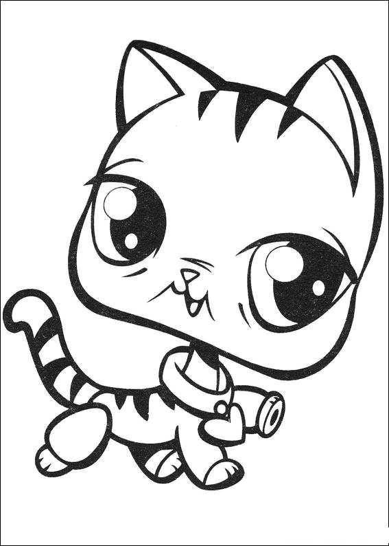 littlest pet shop coloring pages littlest pet shop party