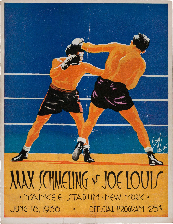 1936 Joe Louis vs. Max Schmeling Heavyweight Championship