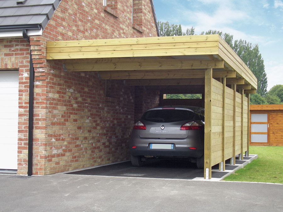 A carport is an economical alternative to garages. Every