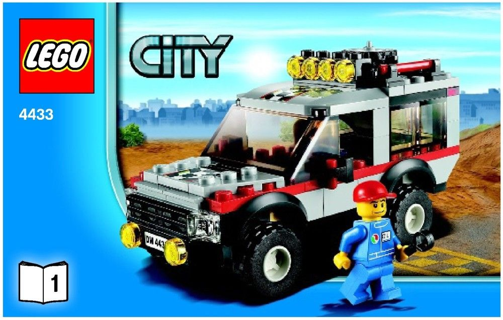 City Dirt Bike Transporter [4433] LEGO Sets Pinterest