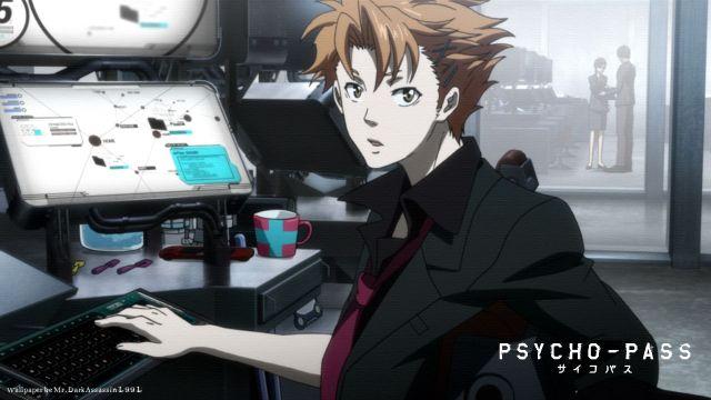 Shusei Kagari Psycho Pass anime young