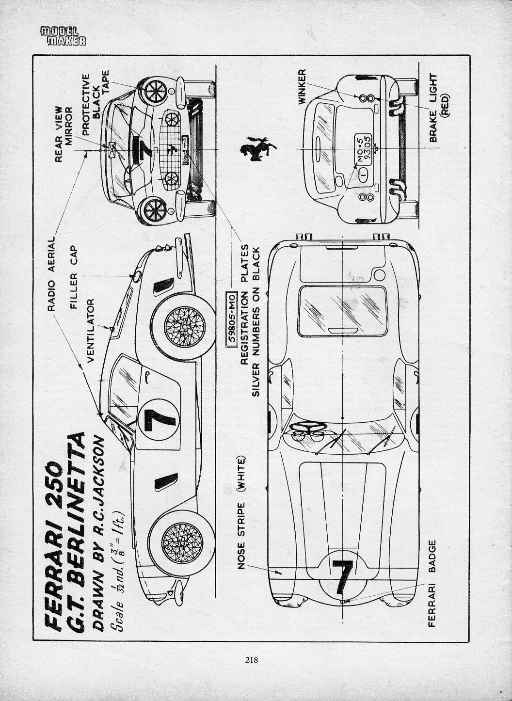 Ferrari 250 Gt Swb Berlinetta Smcars