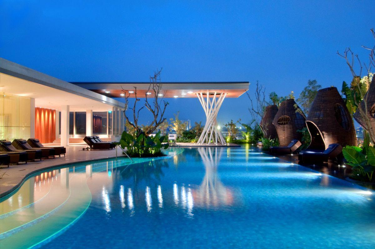 The Hilton Bandung, Indonesia The Hilton's modern, glass