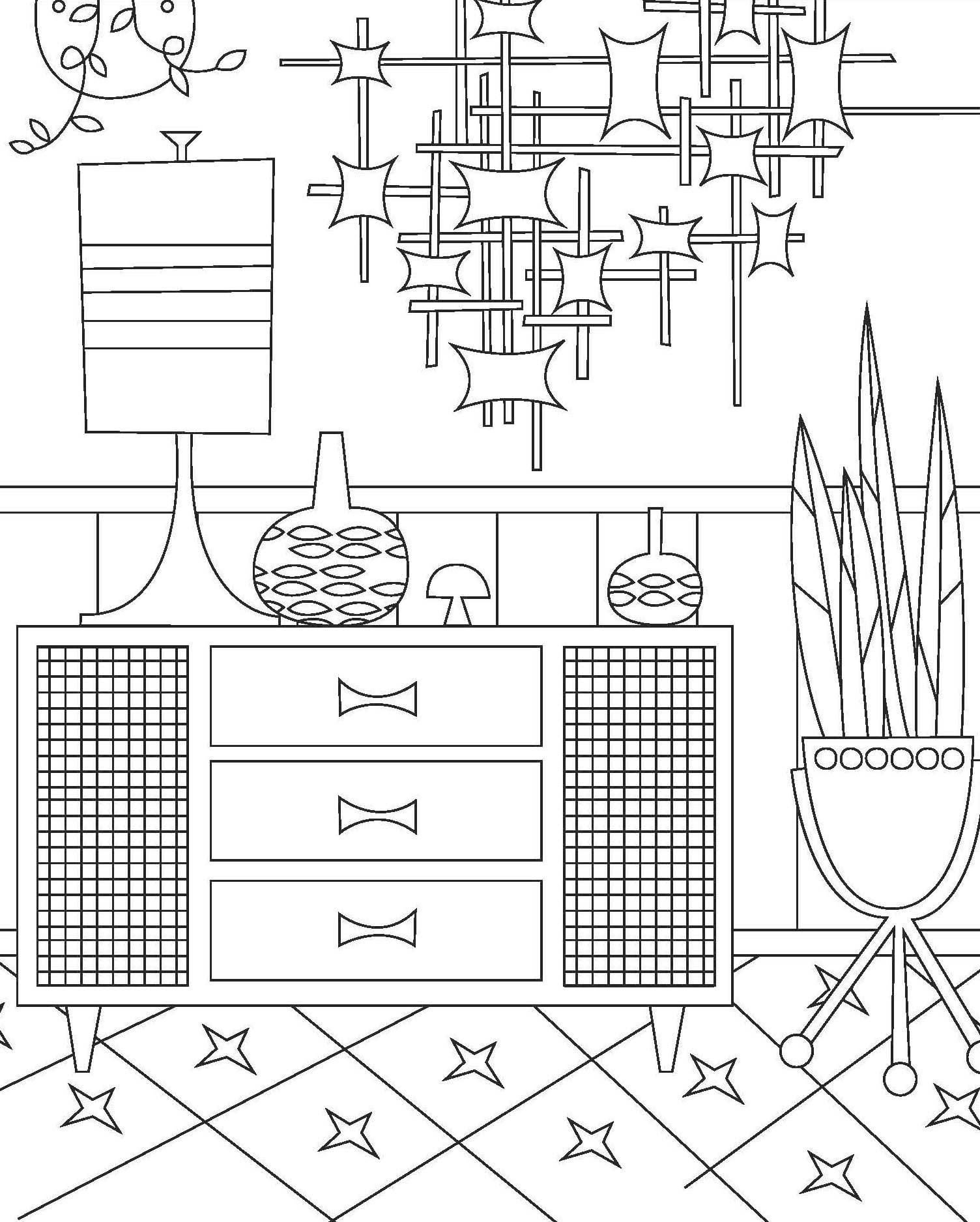 Jenn Ski Coloring Pages For Adults