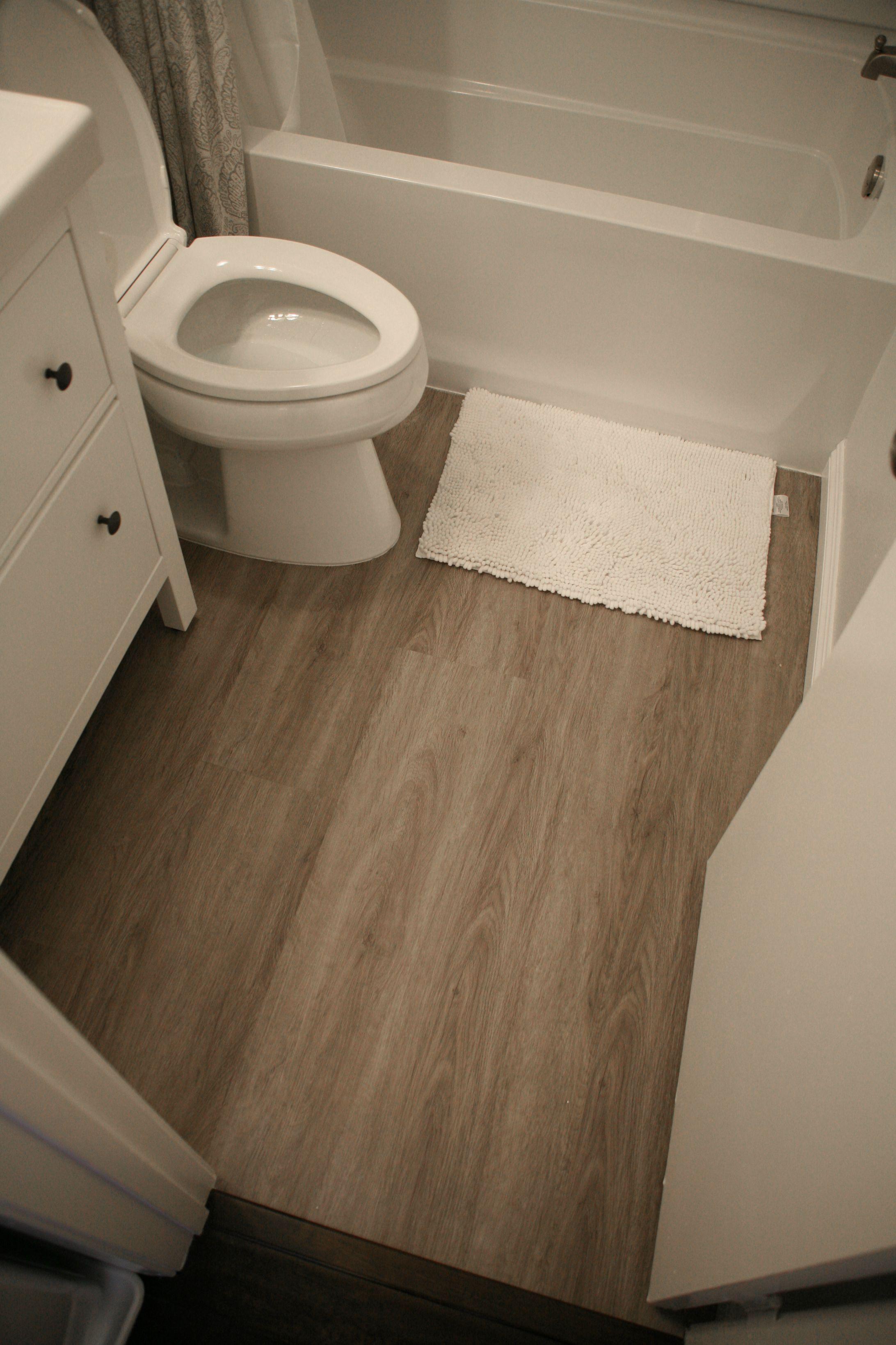 First Home Renovation Luxury vinyl flooring, Luxury
