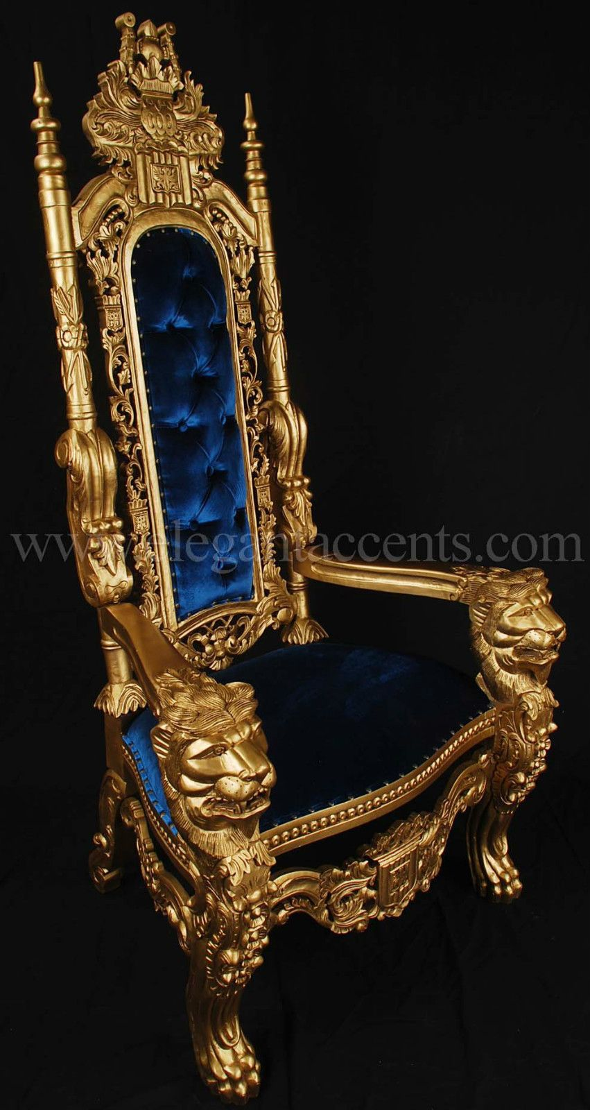 Royal Blue Chair MEDIEVAL Pinterest Blue dishes
