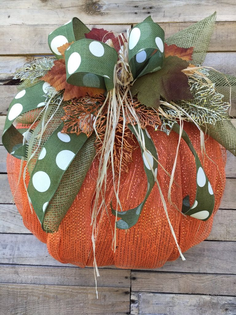 Fall Wreath, Fall Door Wreath, Fall Pumpkin Door Wreath