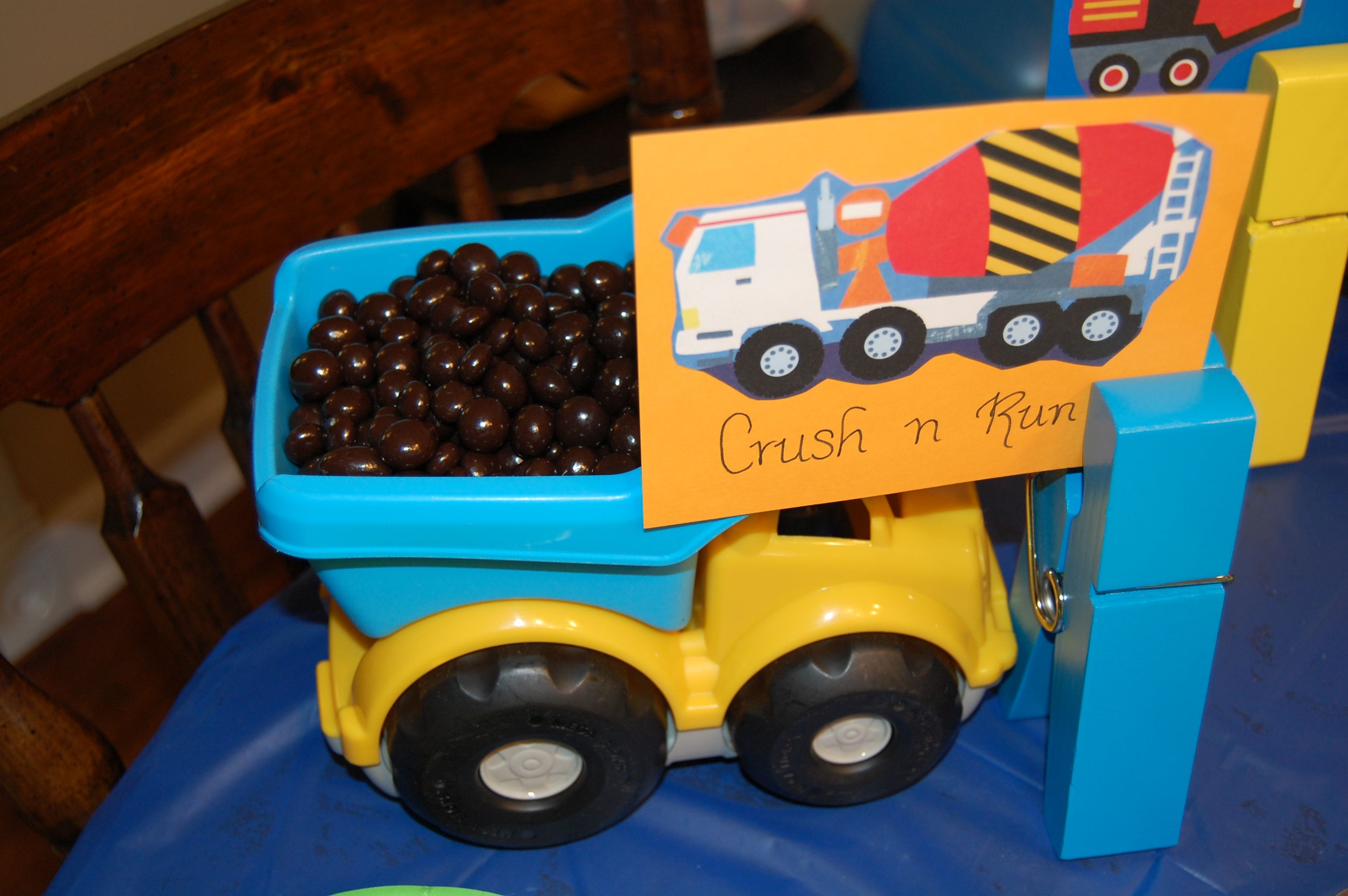 Toy Dump Truck Dark Covered Pomegranate Seeds From Sams Club Large Clothes Pins And