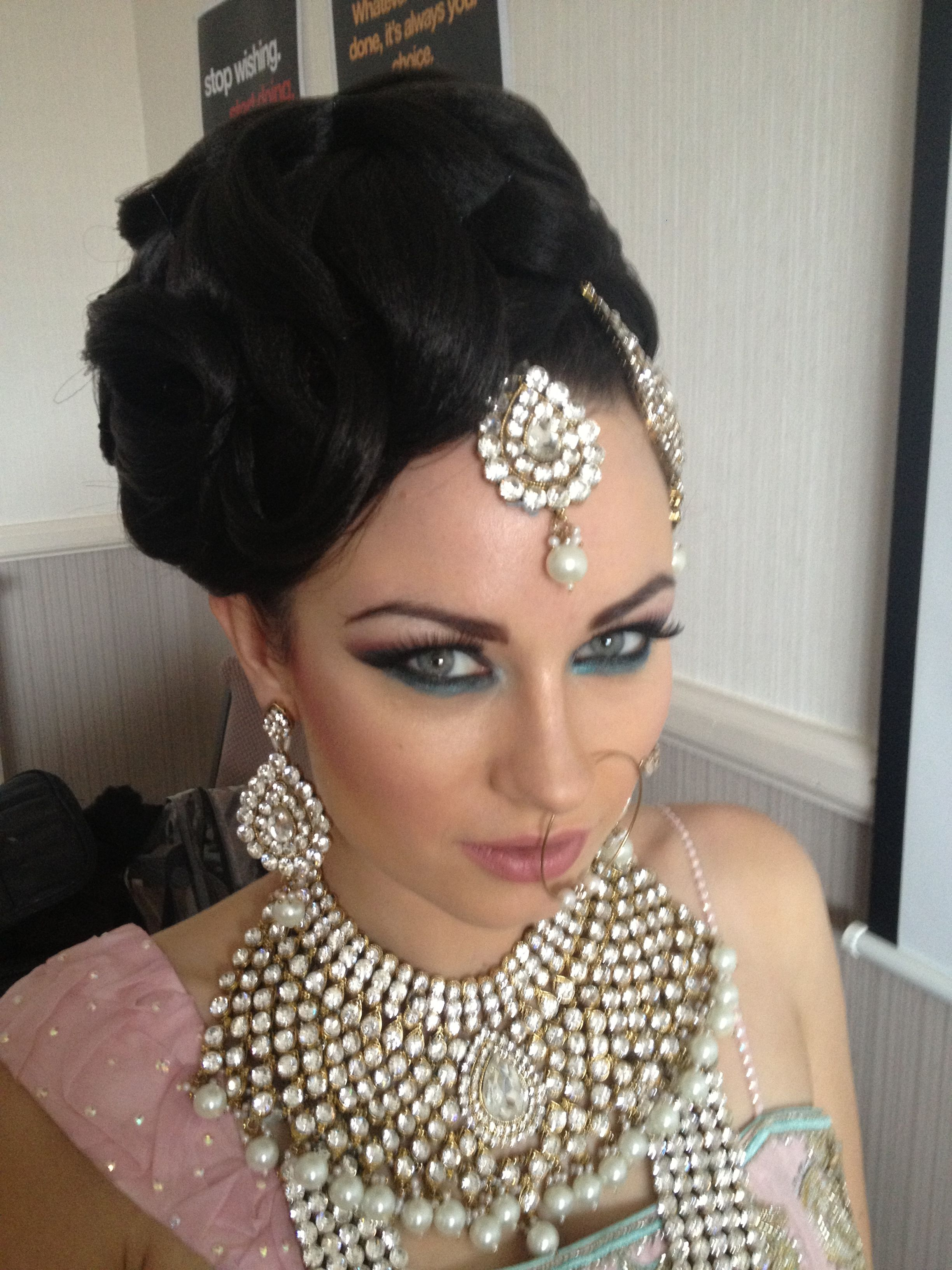Wedding Hair and makeup by Arpita Karania Training courses available
