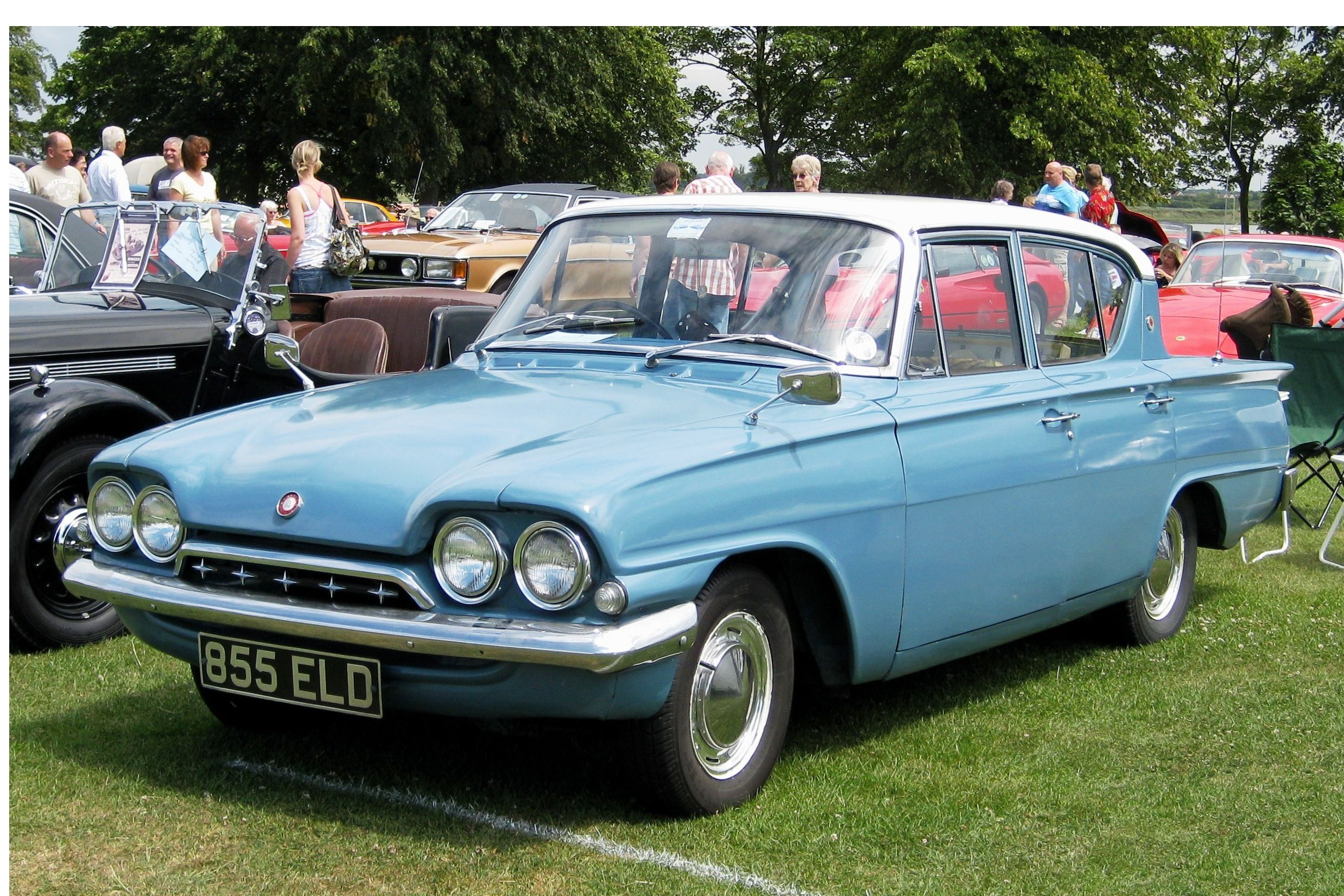 British Classic Cars.. Ford Classic Deluxe 1962