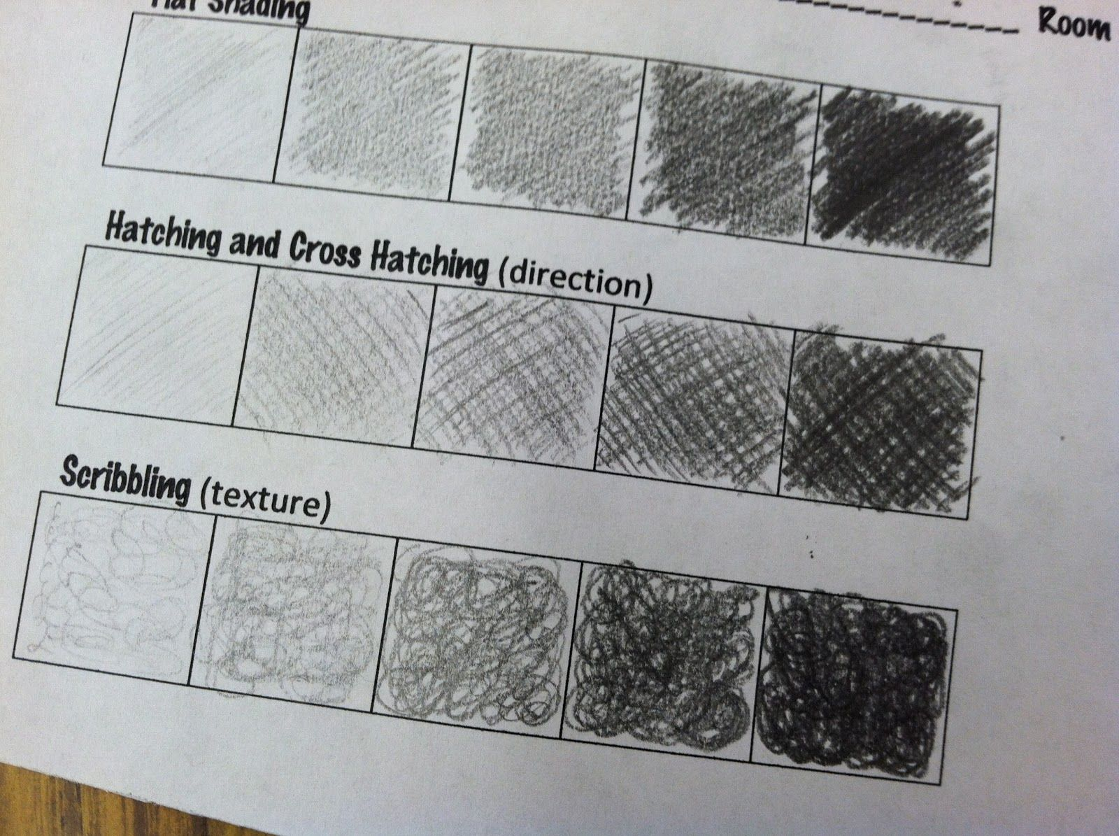 Shading Techniques For 5th Graders