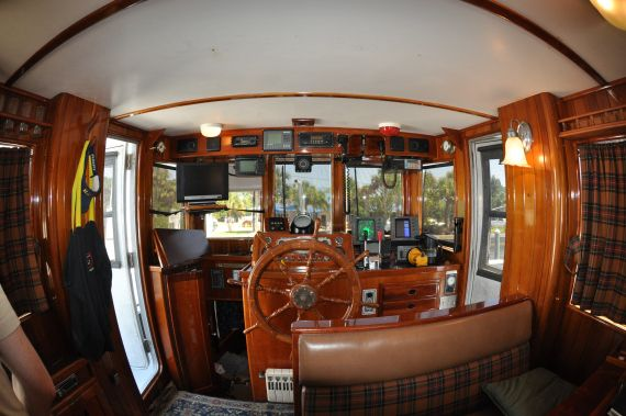 Boat Interiors Pilothouse Tug Boat For Sale Like The