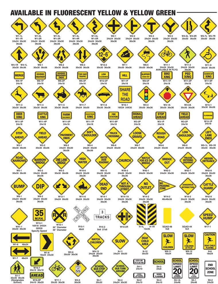 Warning Signs Yellow Warm Cheerful Pinterest Warning