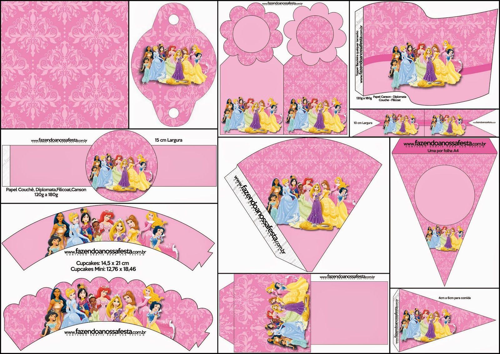 Disney Princess Party Free Party Printables