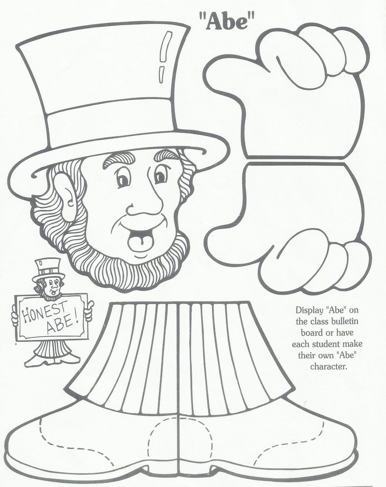 Presidents Day Math Worksheets For First Grade