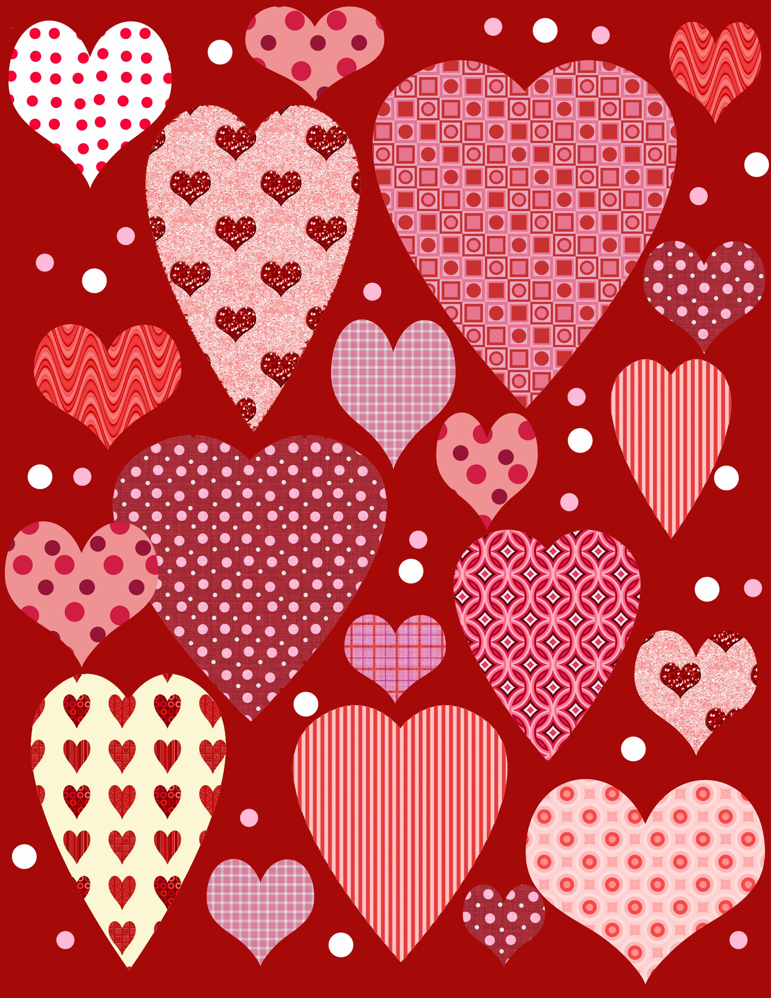 Jamiebrockbpages Hub Printable Freebies Valentines Day Scrapbook Paper