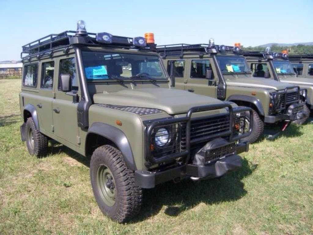 JBK Army Land Rover Defender 110 Defenders, County and