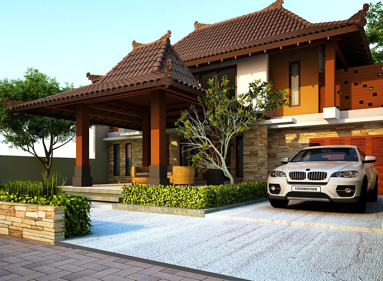 68 Desain Rumah Minimalis Etnik Jawa Desain Rumah Minimalis Terbaru