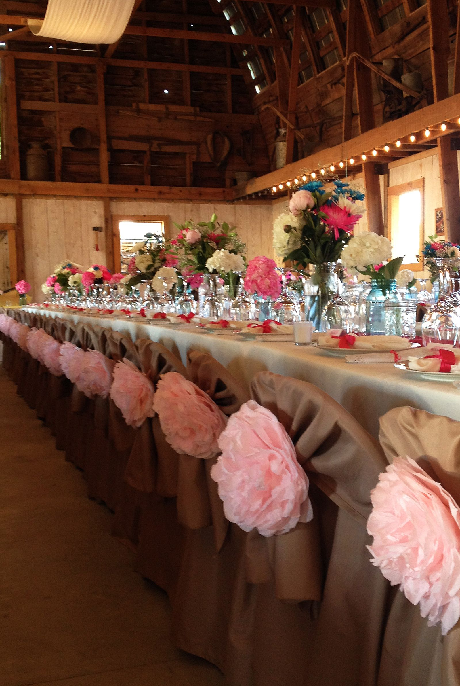 Chair covers to hide those nasty metal folding chairs