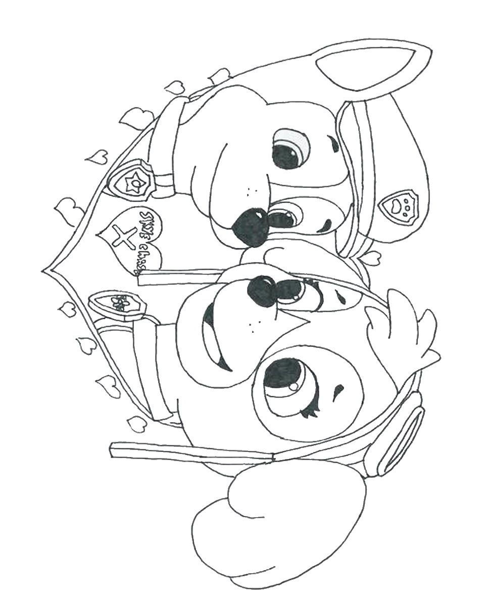 Free Coloring Pages Of Paw Patrol Ryder Coloring Pages