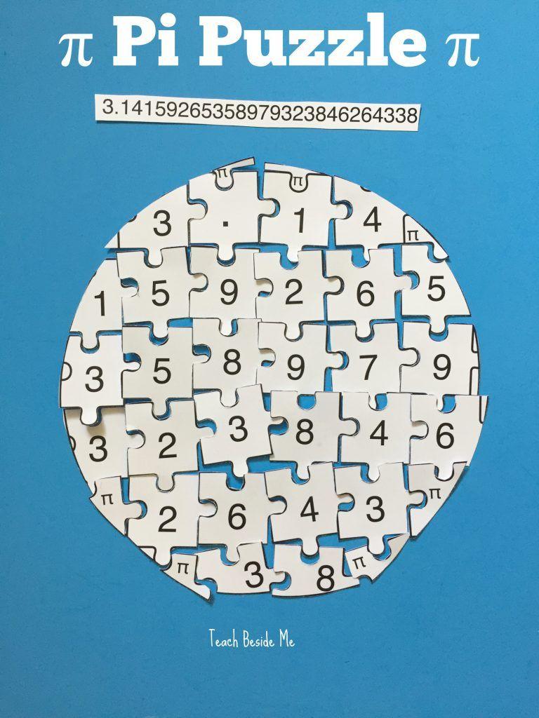 Pr T Ble Pi Puzzle Pi D Y M Th Ctivities M Th Nd Ctivities