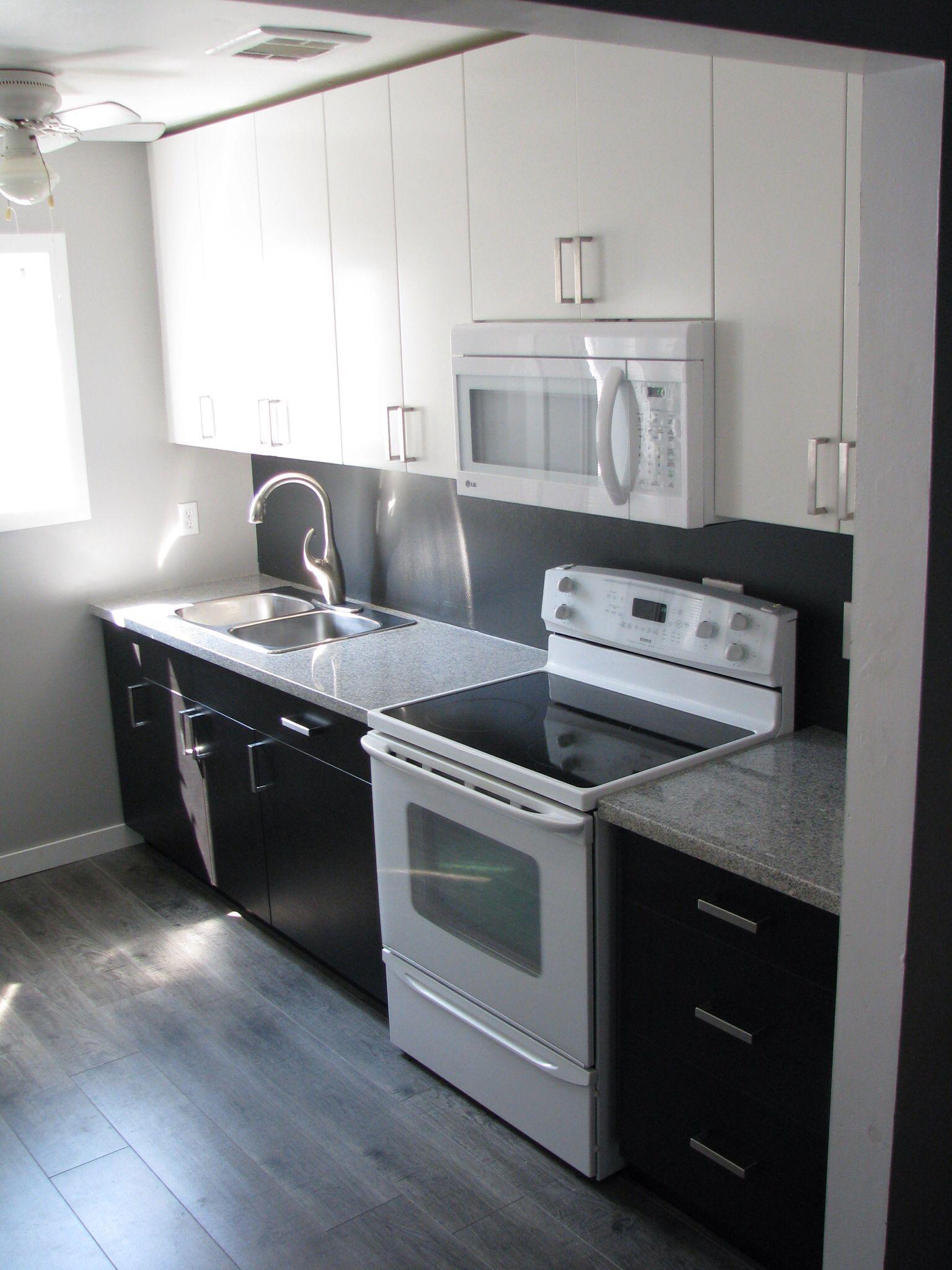 Kitchen Reno, Ikea Applad and Gnosjo with Salt