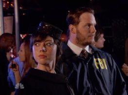 Janet Snakehole & Burt Macklin, FBI