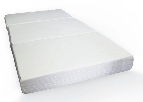 Mattress Milliard 6 Inch Memory Foam Tri Fold