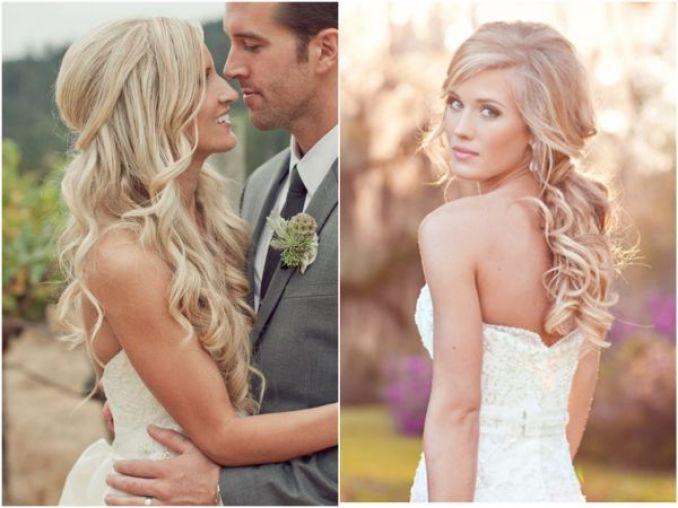 Penteados de noiva 2018 longo