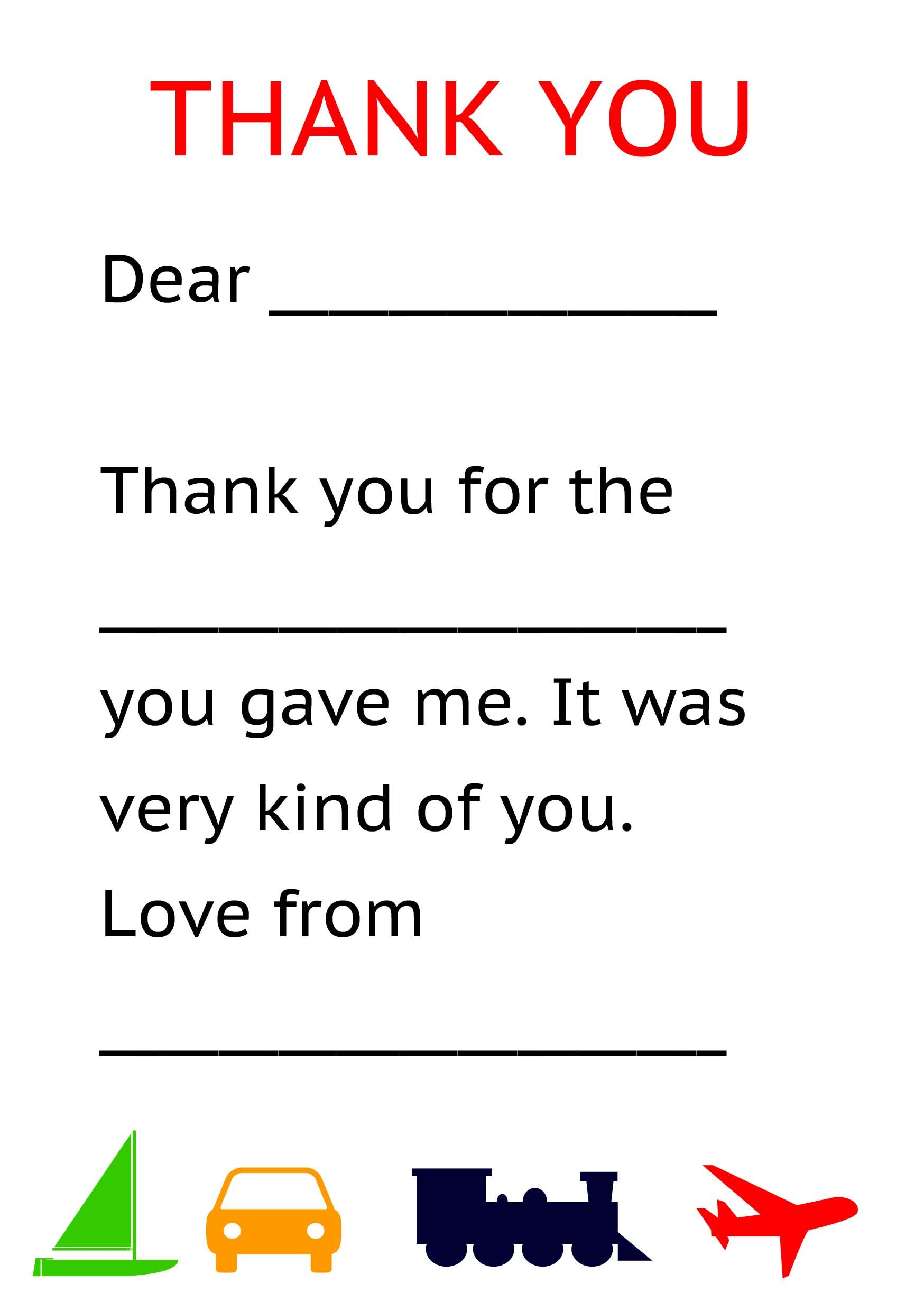 Thank You Notes Templates 10 thank you notes for teachers free – Thank You Note Sample
