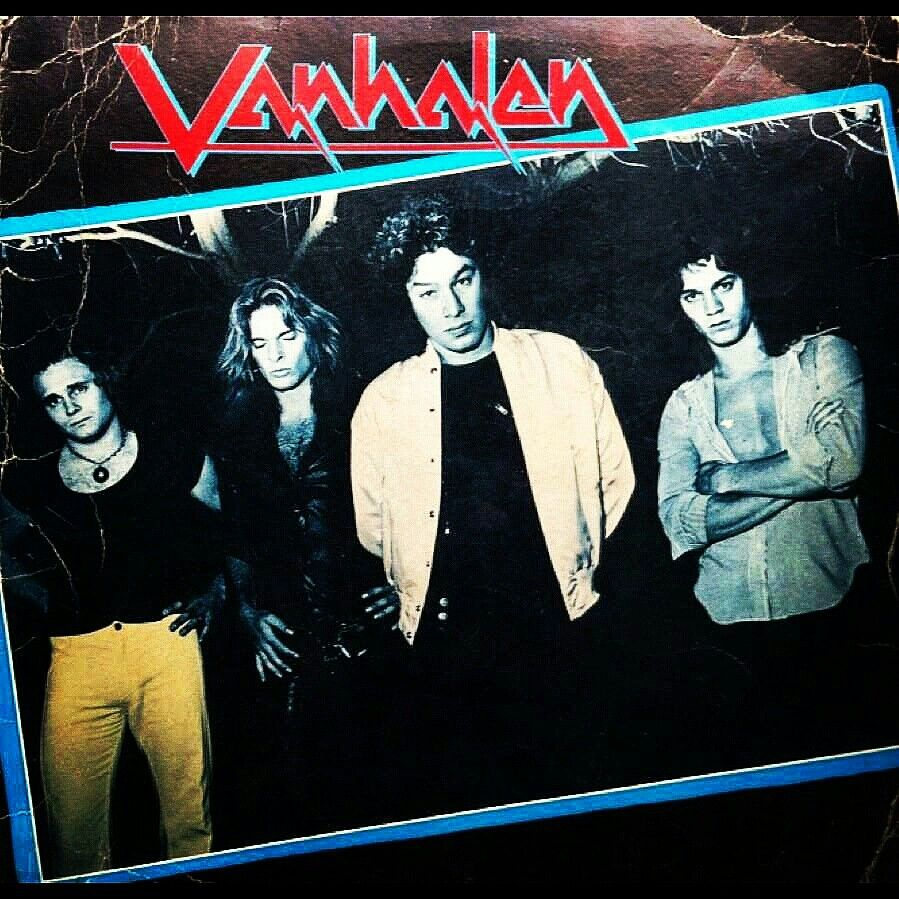 """Alternate cover for Van Halen One,...yes this was almost"