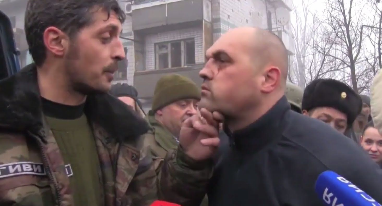 Eng Subs Uaf Pows Abused By Givi And Taken To Parade