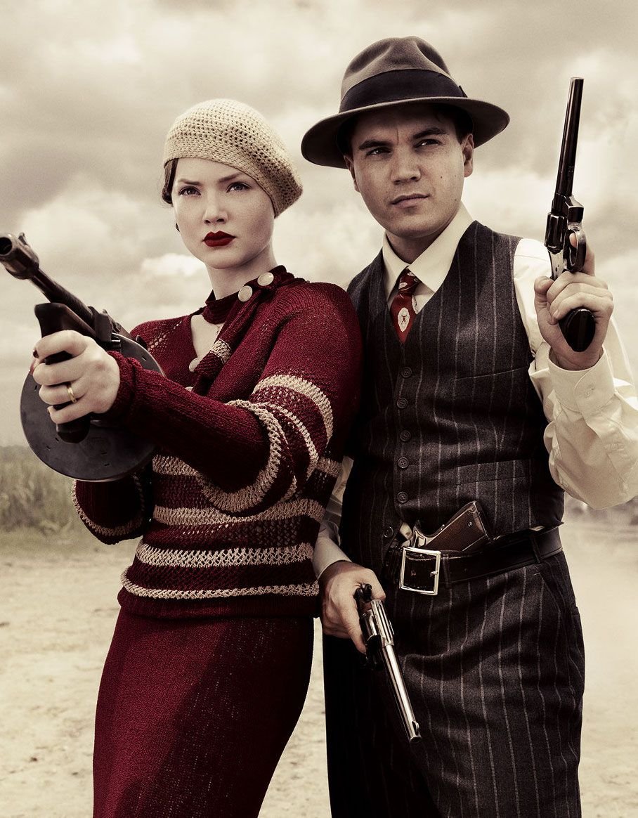 Emile Hirsch and Holliday Grainger in the TV miniseries