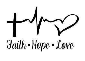Download Faith Hope Love SVG Cutting . | tatooo | Pinterest ...