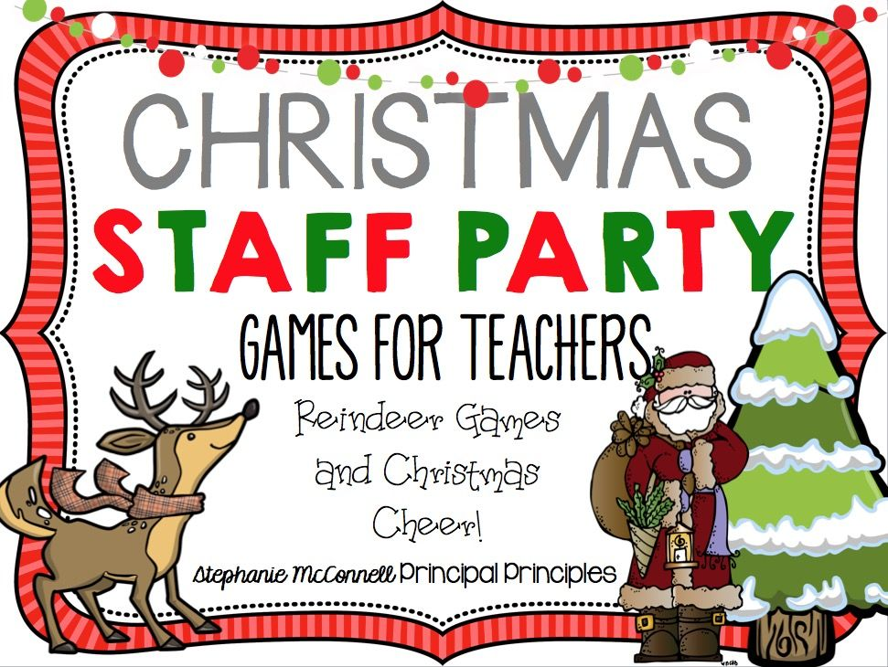 Our Very Merry Christmas Staff Party Reindeer games