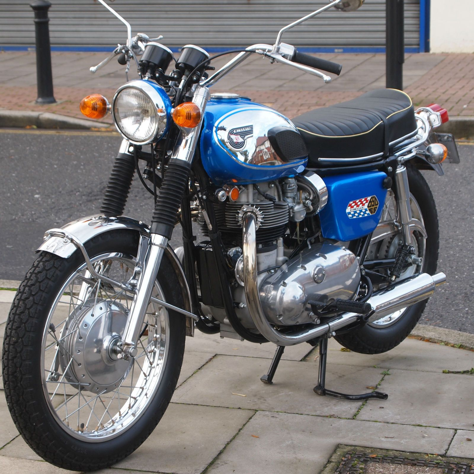 The Kawasaki W1 series this is the 1969 version and was
