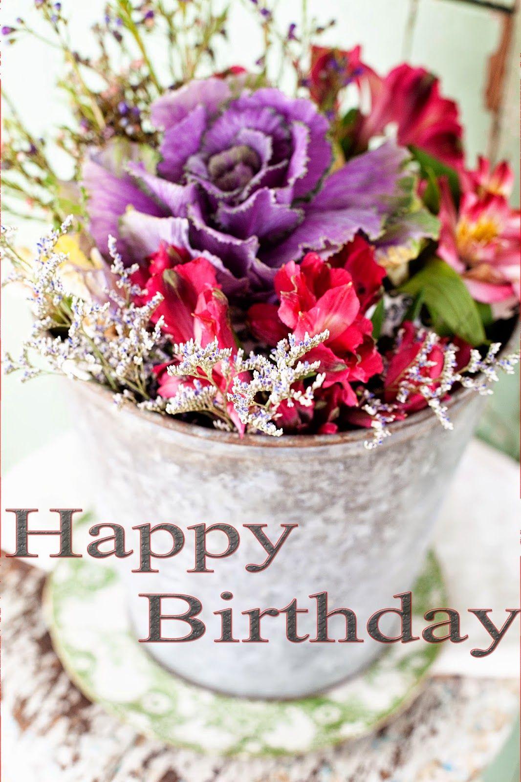 Happy birthday flowers images Birthday Sentiment