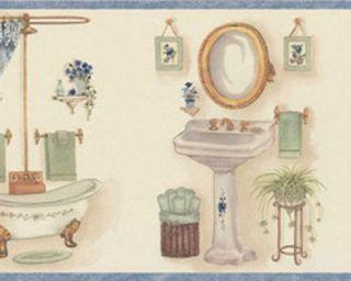 bathroom wallpaper border in borders | bathroom borders