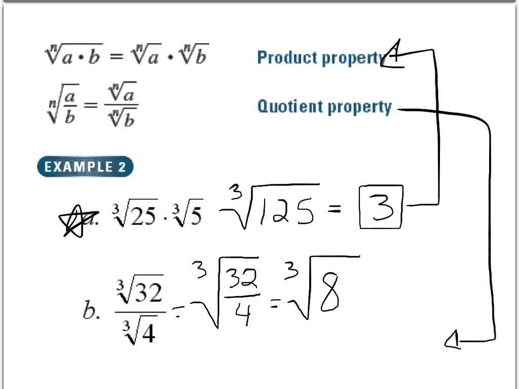 Rational Exponents Worksheet