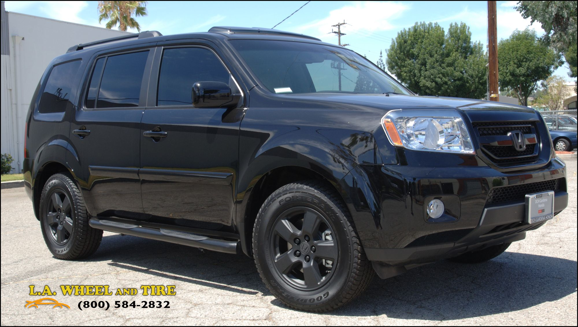 Blackedout honda pilot..will be doing this on parts of my