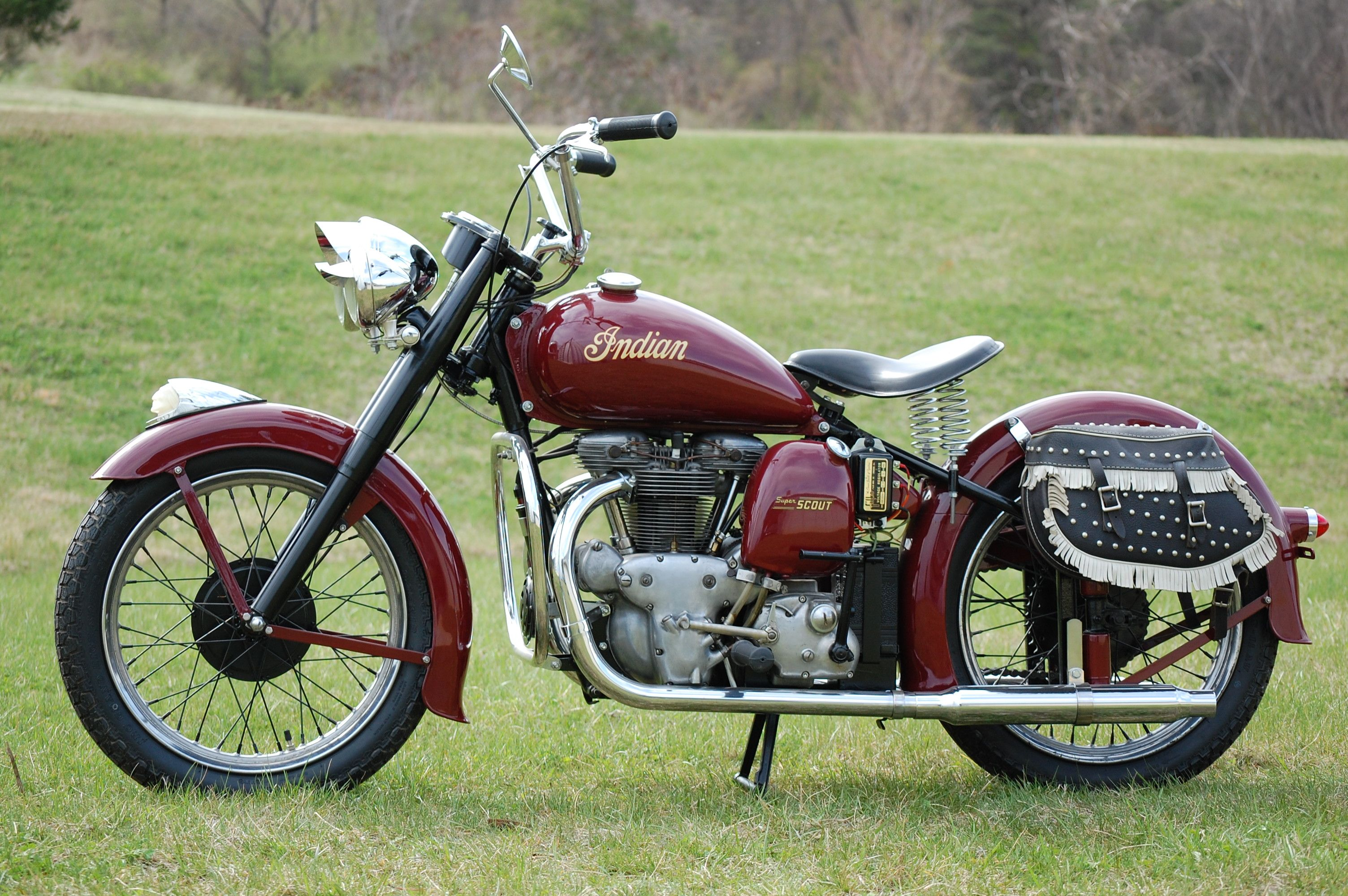 1949 Indian Model 249 Super Scout this was the start of