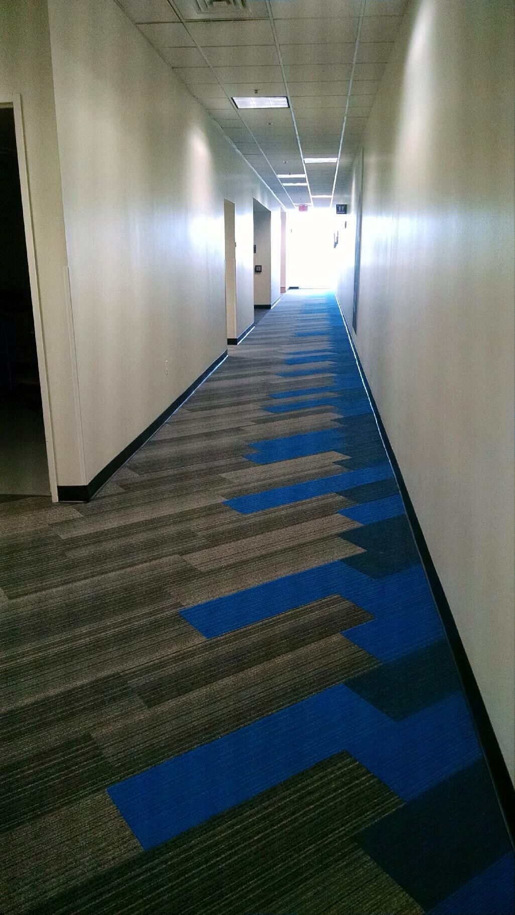 Interface Corridor Shiver Me Timbers Hickory with On