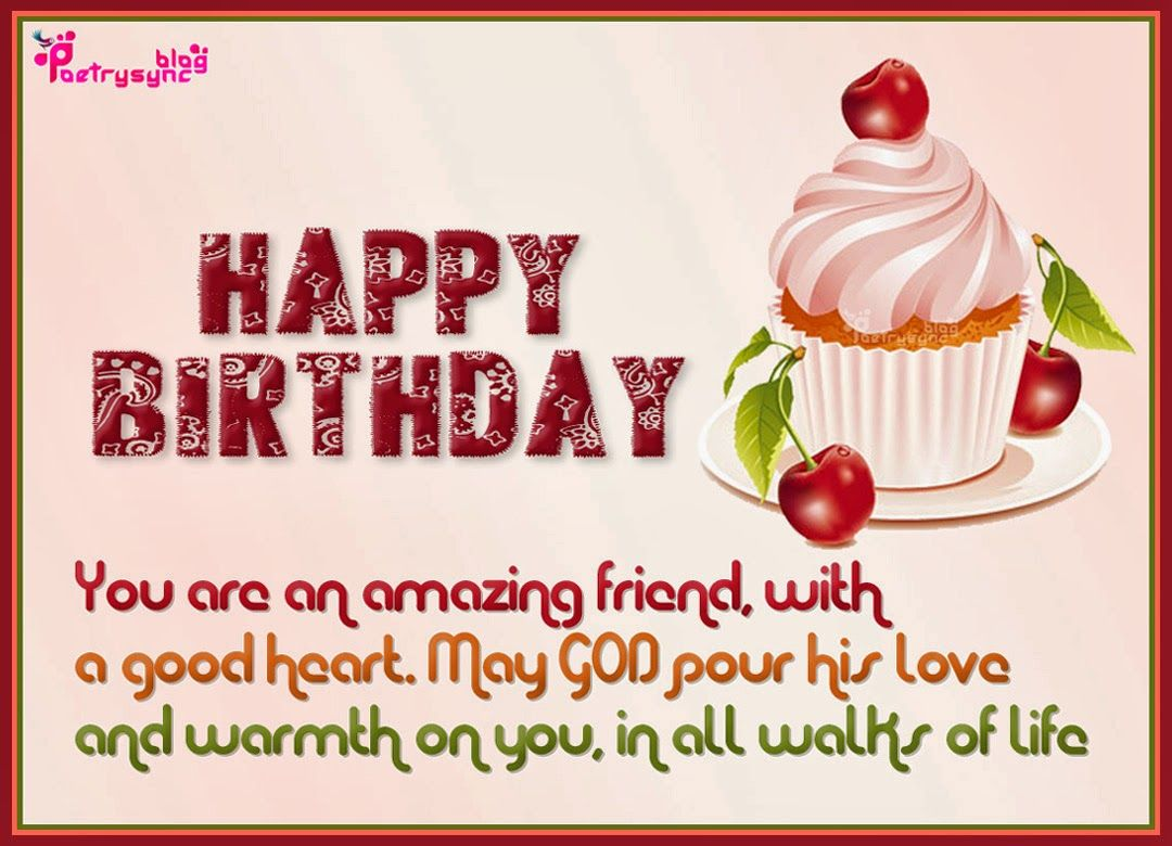 Happy Birthday Wishes Friend Message http//www