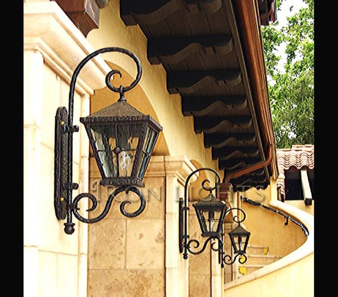 Iron Gallery Showcasing Lighting With Samples Of Outdoor Light Fixtures Chandeliers Ironworks Some Our Products