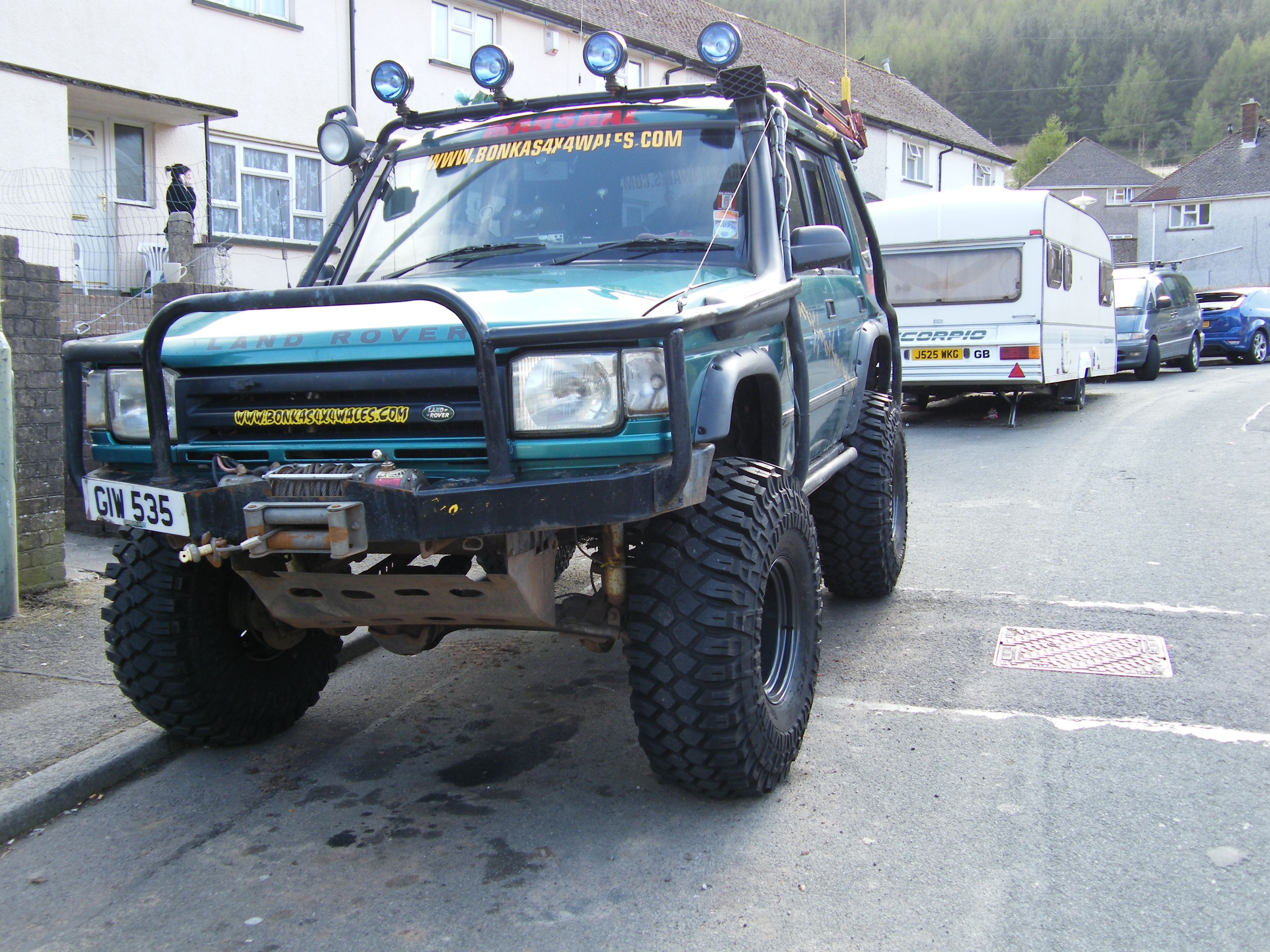 Another tonyakv 1996 Land Rover Discovery post by