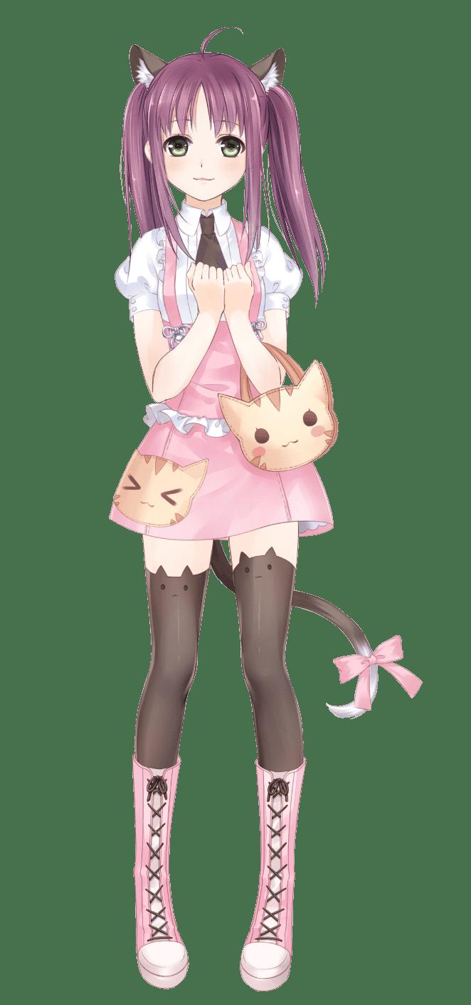 cat girl kawaii anime Anime Kawaii Pinterest Kawaii