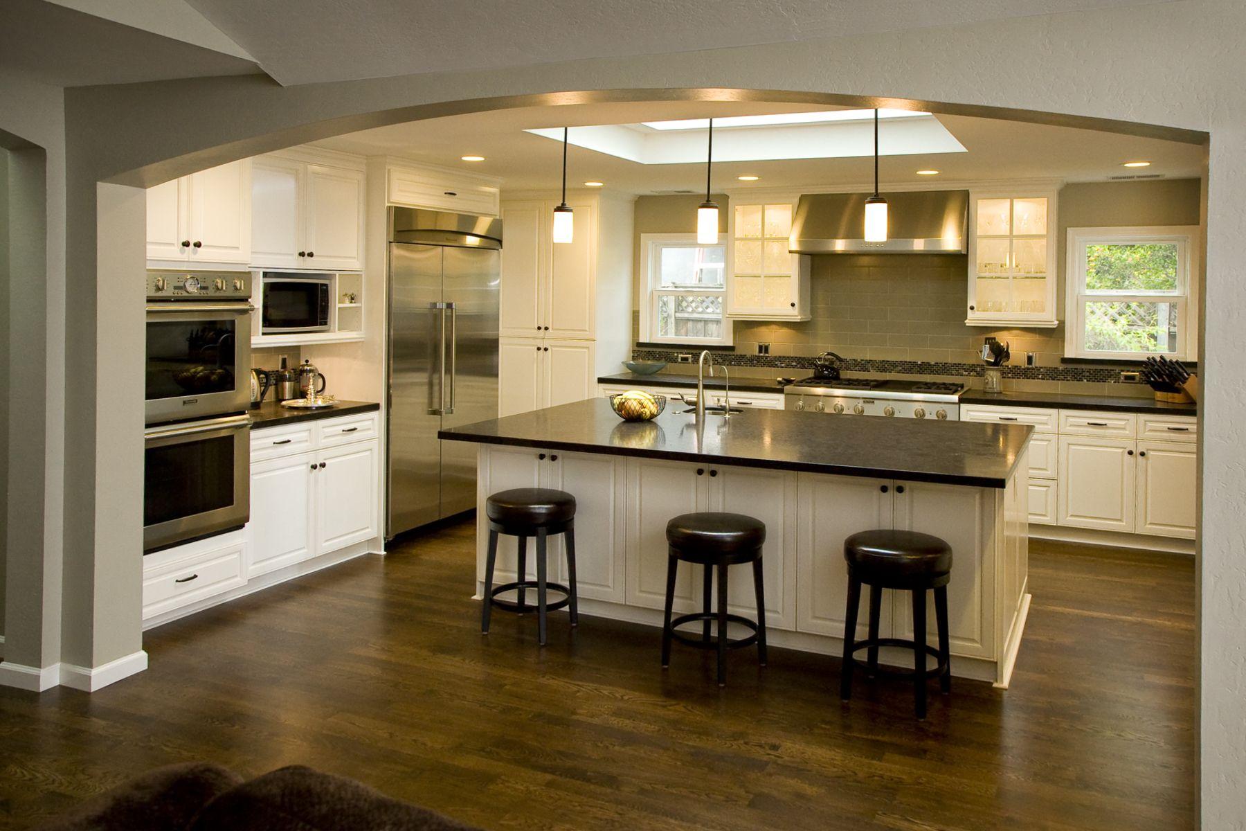 craftsman kitchens Craftsman Modern Kitchen Home