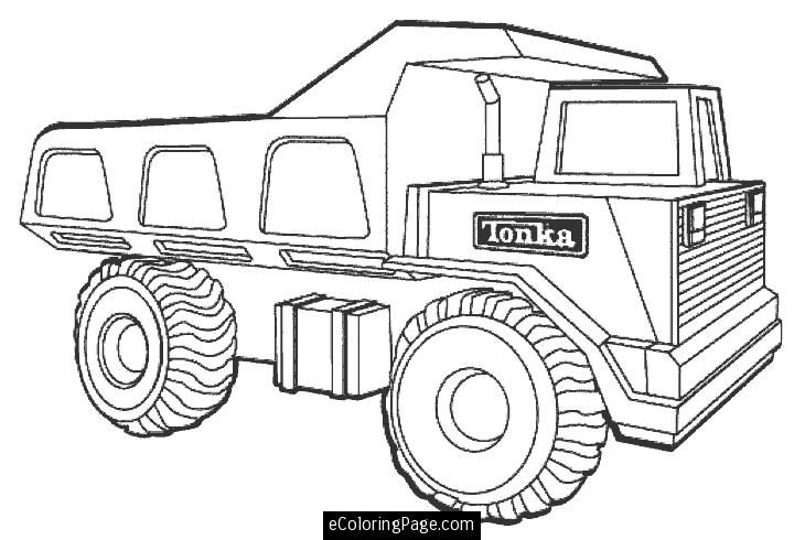 printable coloring pages dump trucks and coloring pages on pinterest