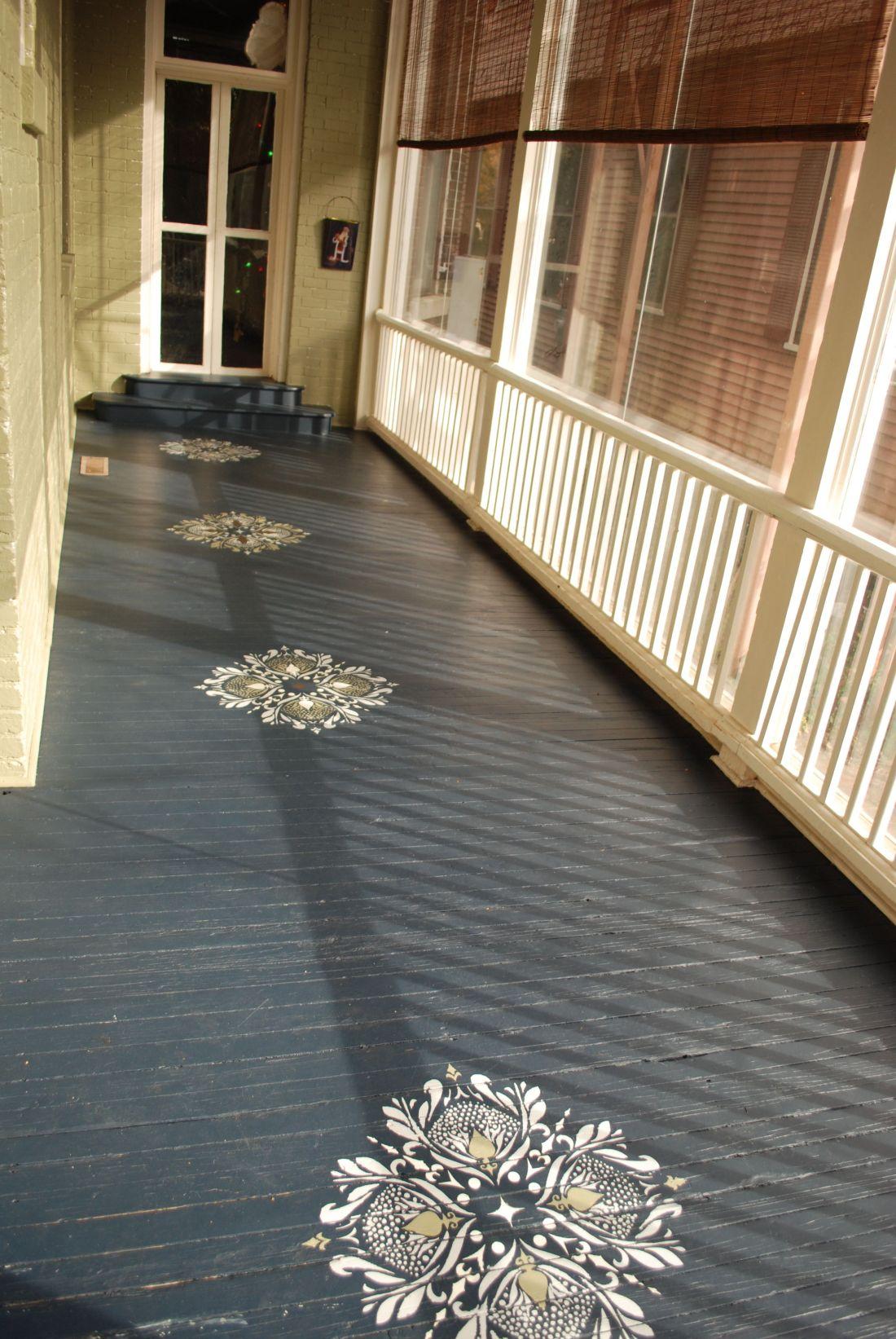 Floor stencils christys board pinterest the floor