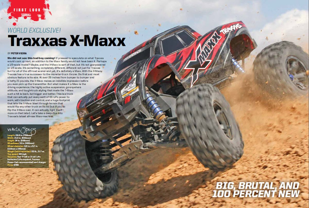 Traxxas XMaxx I actually ordered mine the day after